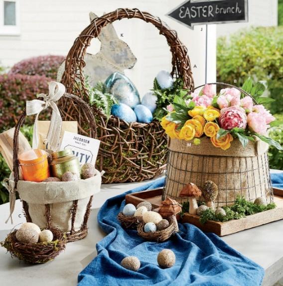 decoração para mesa de páscoa