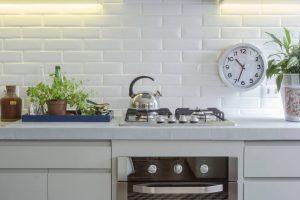 frontão da bancada de cozinha