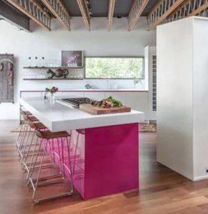 cozinhas coloridas