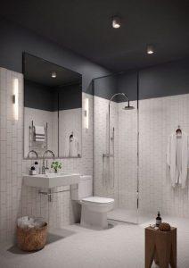 banheiro com plafond