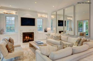 sala de estar luxuosa